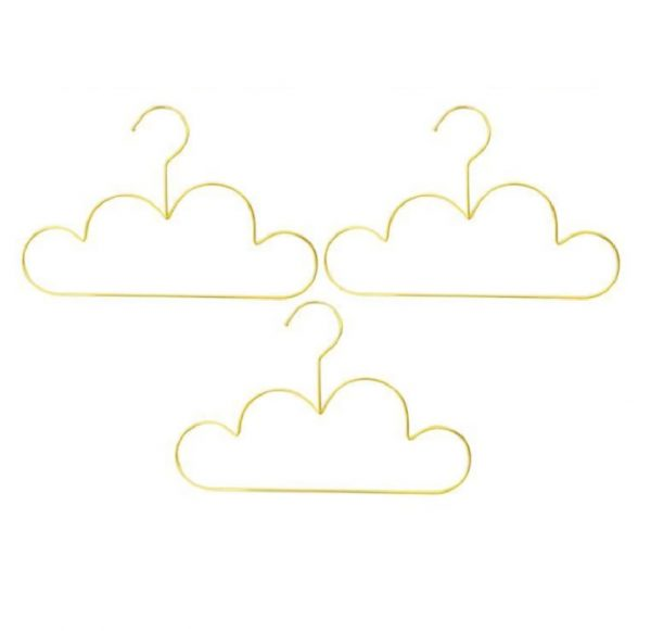 Gouden wolken kledinghangers